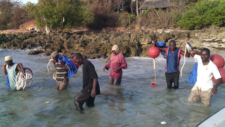 Reaping benefits from a Locally Marine Managed Area (LMMA) in Msambweni, Kwale DIstrict