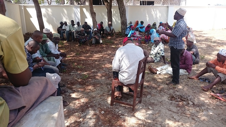 Empowering communities to conserve their own resources